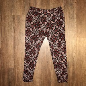 Lilka from Anthropologie Patterned Pant Medium