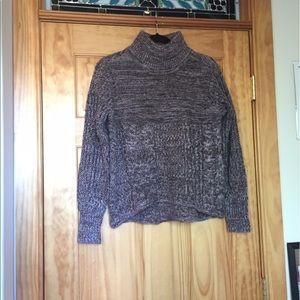 Simply Vera Vera Wang lavender turtleneck sweater