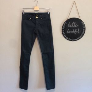 H&M Green Skinny Jeans Size 6