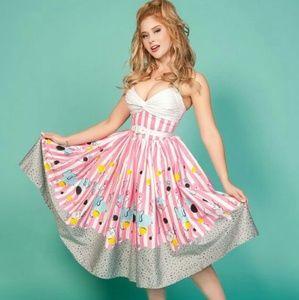 Pinup Girl Clothing Dresses & Skirts - Mary Blair Elephant Dress