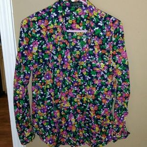 Ralph Lauren Tops - Ralph Lauren Floral Button Up