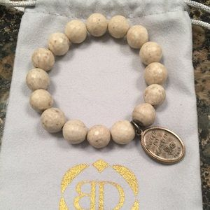 Anthropologie Jewelry - Blessings in Desguise beaded bracelet ✝️