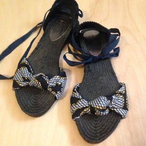 Belle by Sigerson Morrison Shoes - Belle by Sergio Morrison Flat Espadrilles