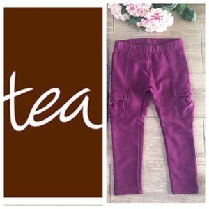 Tea Collection Other - Tea Collection Cargo Leggings Raspberry