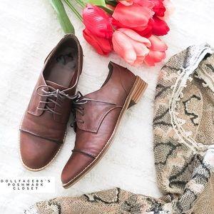 Fergalicious Shoes - Brown Oxfords