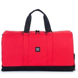 Herschel Supply Company Other - NWT HERSCHEL NOVEL DUFFLE -RED/BLACK