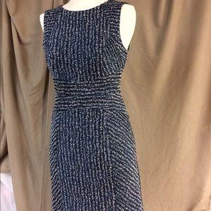Shoshanna Dresses & Skirts - Shoshanna navy and gold dress