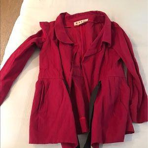 Marni Jackets & Blazers - Marni Red jacket