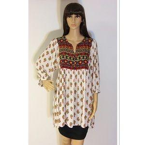 Umgee Dresses & Skirts - UMGEE BOHO DRESS/TUNIC/TOP