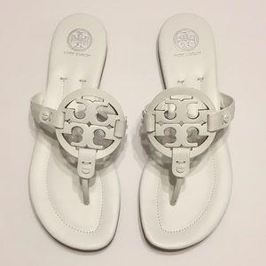 Tory Burch Shoes - 🔥NIB TORY BURCH Miller 2 Sandal (White) 8.5