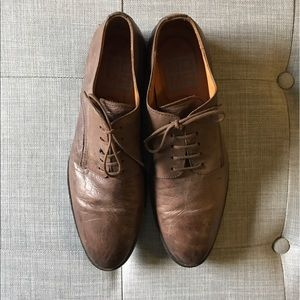 Moma Other - MOMA brown leather dress shoes
