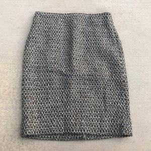 J. Crew Timber Tweed Pencil Skirt