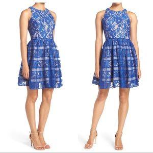 Aidan Mattox Dresses & Skirts - Aidan Mattox Lace Fit & Flare Dress