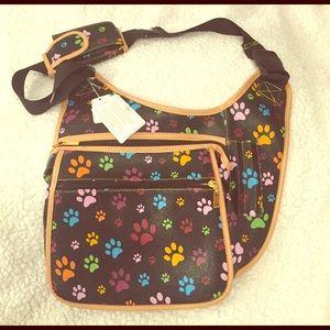 Blossom Handbags - 🆕Paw Print Crossbody