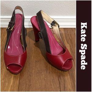 Kate Spade Slingback Heels