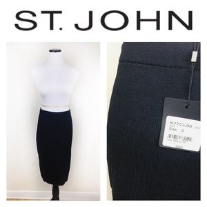St. John Dresses & Skirts - ST. JOHN PENCIL BLACK SKIRT