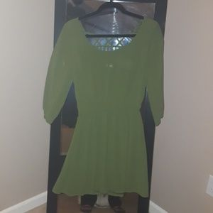 Beeko Dresses & Skirts - Olive green dress