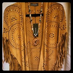 CHOISE Other - NWT Fringe Poncho