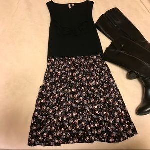 Frenchi Dresses & Skirts - Floral Summer Cotton Tank Top Dress