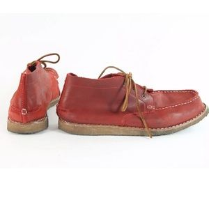 Danner Other - Men's Chukka Lifestyle Boot in Red Nubuck Leather