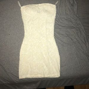 Body Central Dresses & Skirts - White lace dress