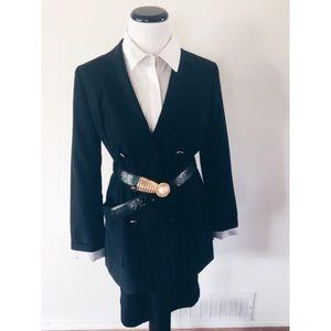 GAP Jackets & Blazers - Gap Nautical Black Double Breasted Jacket Blazer 6