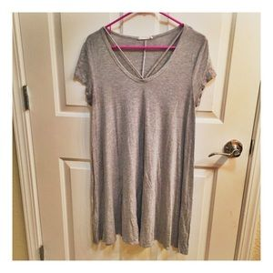Dresses & Skirts - Classic Grey Tee Shirt Dress