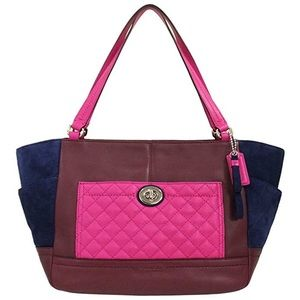 Coach Handbags - NWT COACH Quilted Mini Tote Adorable Colors