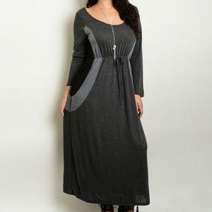 Dresses & Skirts - NWT🔥CLEARANCE NO OFFERS PLUS SZ Soft Knit Dre