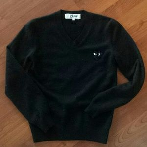 Comme des Garcons Sweaters - Authentic Comme des Garcons Play wool sweater