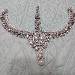 2/$100 🎉HP🎉 Silver Bridal Headpiece Jewelry