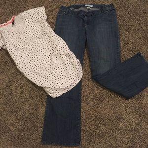 Liz Lange Denim - Maternity jeans size 8