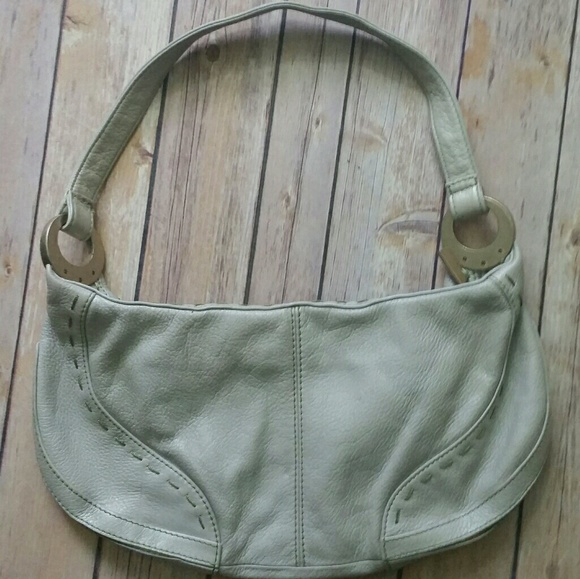 eec82f05fc5 Clarks Bags | Indigo By Pale Gray Leather Bag | Poshmark