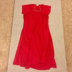 Momo Maternity Dresses & Skirts - Red Summer Maternity Dress❤️️ Sz M