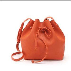 Handbags - Bucket Bag PU Leather Cross-Body Handbag