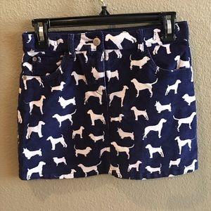 Mini Boden Other - Mini Boden Dog Corduroy skirt