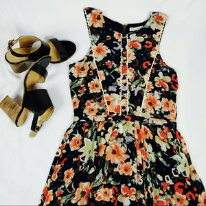 Lucca Couture Dresses & Skirts - [Lucca Couture] Floral Printed Dress