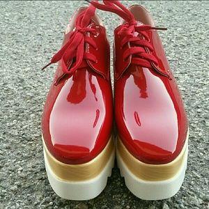Stella mccartney  Shoes - Coral Oxnard Platfforms