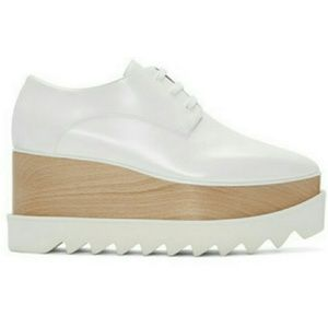 Stella McCartney Shoes - White Oxnard Platfforms