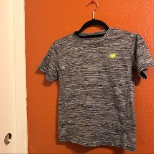  Marled Gray New Balance Tee 
