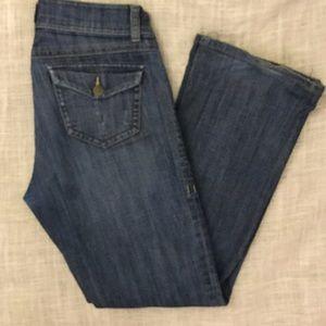 "CAbi Denim - CAbi   ""5 Pocket"" Boot Cut JEAN  👖SIZE 6 🦋🌈🌺🌼"