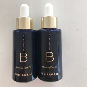 Beautycounter soothing face oil