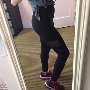Beyond Yoga Pants - Beyond Yoga Mesh Panel Legging