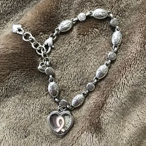 Jewelry - Brighton Breast Cancer Awareness Bracelet