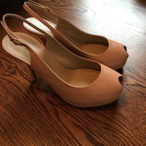 Giuseppe Zanotti Shoes - Giuseppe Zanotti 'Vero Cucio' blush sling backs