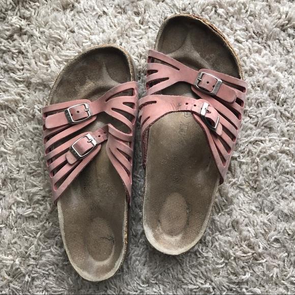 655bc1e25adb Birkenstock Shoes - Spring Pink Birkenstocks! Size 39 Womens