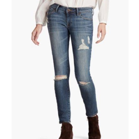 Size 8//29 Ankle Lucky Brand Lolita Mid Rise Skinny Stretch Jeans San Jacinto