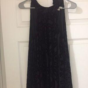 Francesca's Collections Dresses & Skirts - Black Velvet Dress