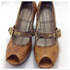 Anthropologie Shoes - Bobbi Blu Prior Leather Mary Jane