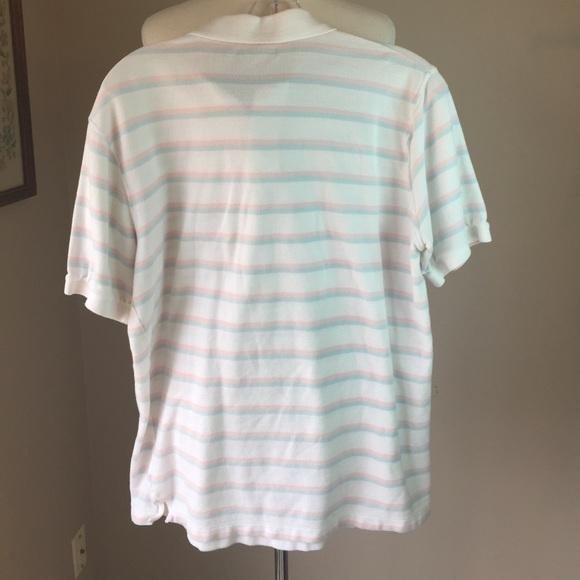 Vineyard Vines Shirts - Vineyard Vines pastel Striped polo shirt